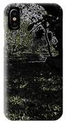 Weeds And Plants In A Coastal Saltwater Creek IPhone Case