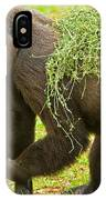 Western Lowland Gorilla Female IPhone Case