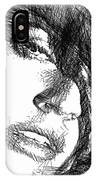 Woman Sketch IPhone Case
