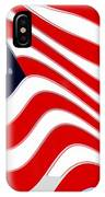 50 Star American Flag Closeup Abstract 8 IPhone Case