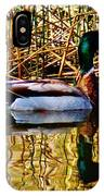5.4.2014 Wild Mallard IPhone Case