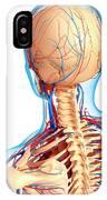 Upper Body Anatomy IPhone Case