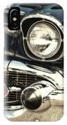 57 Chevy Headlight IPhone Case