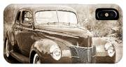 1940 Ford Deluxe Coupe IPhone X Case