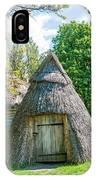 A Typical Ukrainian Antique Hut IPhone Case