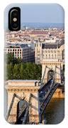 Budapest Cityscape IPhone X Case