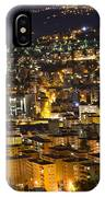 Cityscape At Night IPhone Case