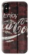 Coca Cola Sign IPhone Case