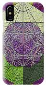 Dodecahedron In A Metatron's Cube IPhone Case