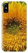 Dwarf Sunflower Named Teddy Bear IPhone Case