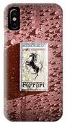 Ferrari Emblem IPhone Case