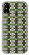 Flowers From Cherryhill Nj America Silken Sparkle Purple Tone Graphically Enhanced Innovative Patter IPhone Case