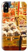 Hong Kong Market Scene IPhone Case
