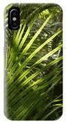 Jungle Light IPhone Case