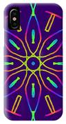 Kaleidoscope Drawing IPhone Case