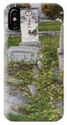 Key West Cemetery IPhone Case