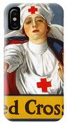 Red Cross Poster, 1917 IPhone Case