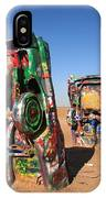 Route 66 - Cadillac Ranch IPhone Case