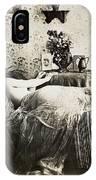 Sleeping Woman, C1900 IPhone Case