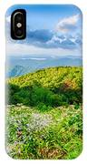 Sunrise Over Blue Ridge Mountains Scenic Overlook  IPhone Case