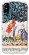 Tacuinum Sanitatis, Medieval Health IPhone Case