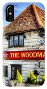 The Woodman Pub IPhone Case