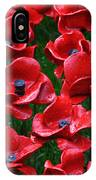 Tower Of London Poppies IPhone Case