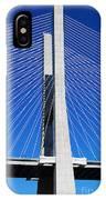 Vasco Da Gama Bridge In Lisbon IPhone Case