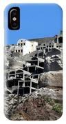 Views Of Santorini Greece IPhone Case