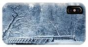 Winter White Forest IPhone Case