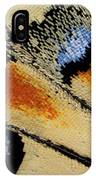 Close-up Detail Wing Pattern IPhone Case