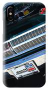 65 Plymouth Satellite Grill-8481 IPhone Case