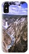661 Sl Yellowstone Canyon  IPhone Case