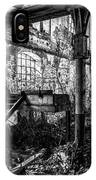 Abandoned Sugar Mill IPhone Case