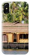 Asia, India, Kerala (backwaters IPhone Case