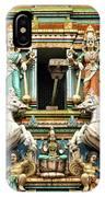 Hindu Temple With Indian Gods Kuala Lumpur Malaysia IPhone Case