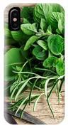 Kitchen Herbs IPhone Case