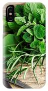 Kitchen Herbs IPhone Case