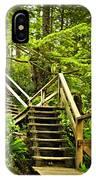 Path In Temperate Rainforest IPhone Case