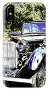 Psychedelic Classic Lagonda IPhone Case