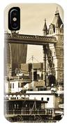 River Thames View IPhone Case