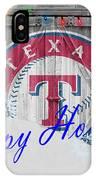 Texas Rangers IPhone Case