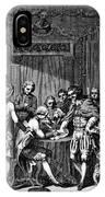 Treaty Of Paris, 1783 IPhone Case
