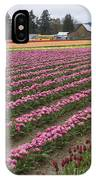 Tulip Field IPhone Case