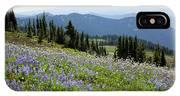 Wa, Goat Rocks Wilderness, Wildflower IPhone X Case