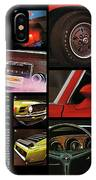 '70 Mustang Options IPhone Case