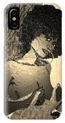 70s Chic Sepia IPhone Case