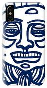 Frisby Buddha Blue White IPhone Case