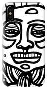 Lorton Buddha Black And White IPhone Case