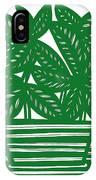 Lagoa Plant Leaves Green White IPhone Case